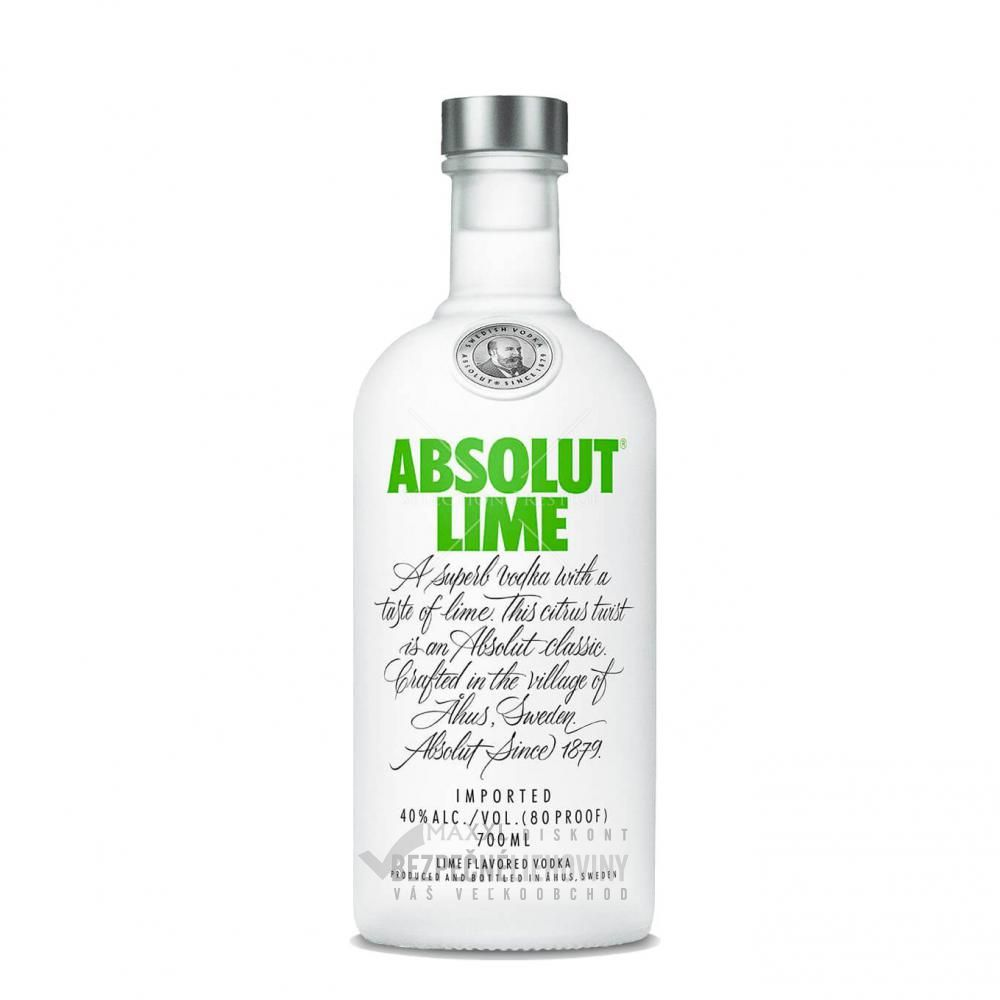 Absolut Lime 40% 0,7L